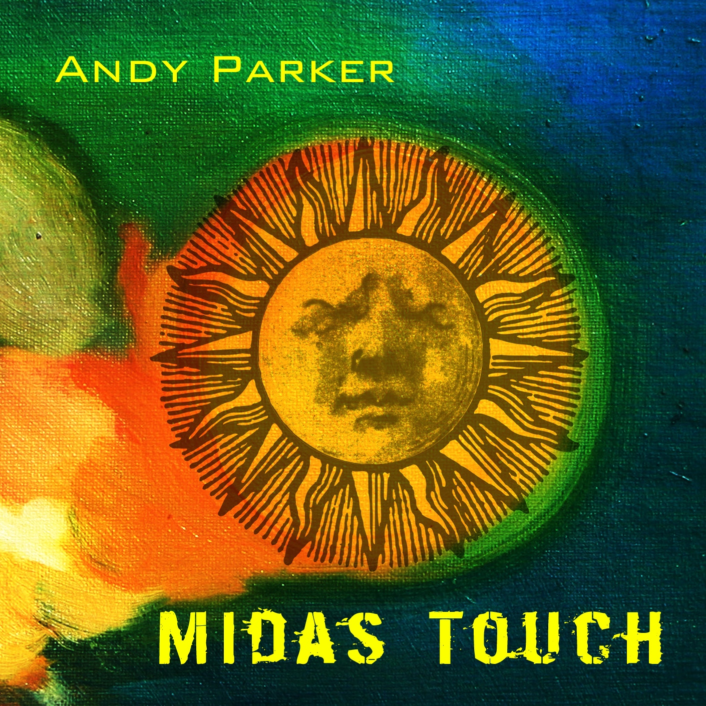 Midas Touch - Andy Parker - front cover