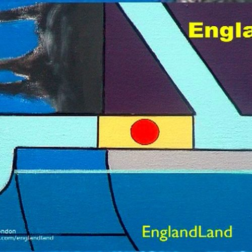 Englandland - Front and back covers