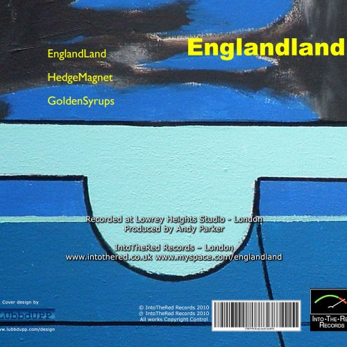 Englandland EP003 back cover